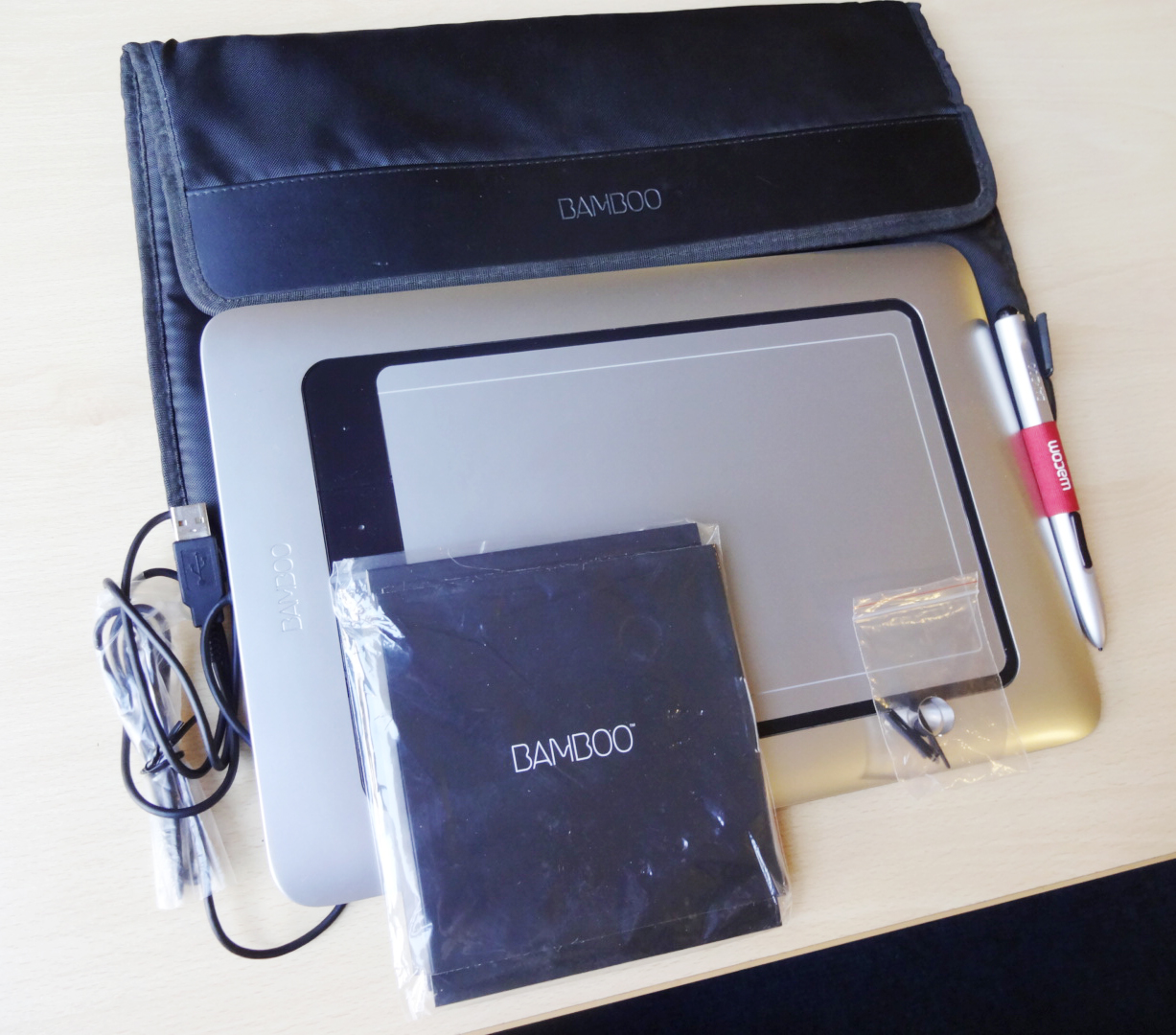 How to install wacom bamboo tablet without cd
